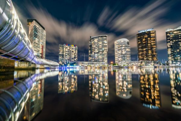 Edge of the City – Dockalnds at Night - Photos | Melbourne