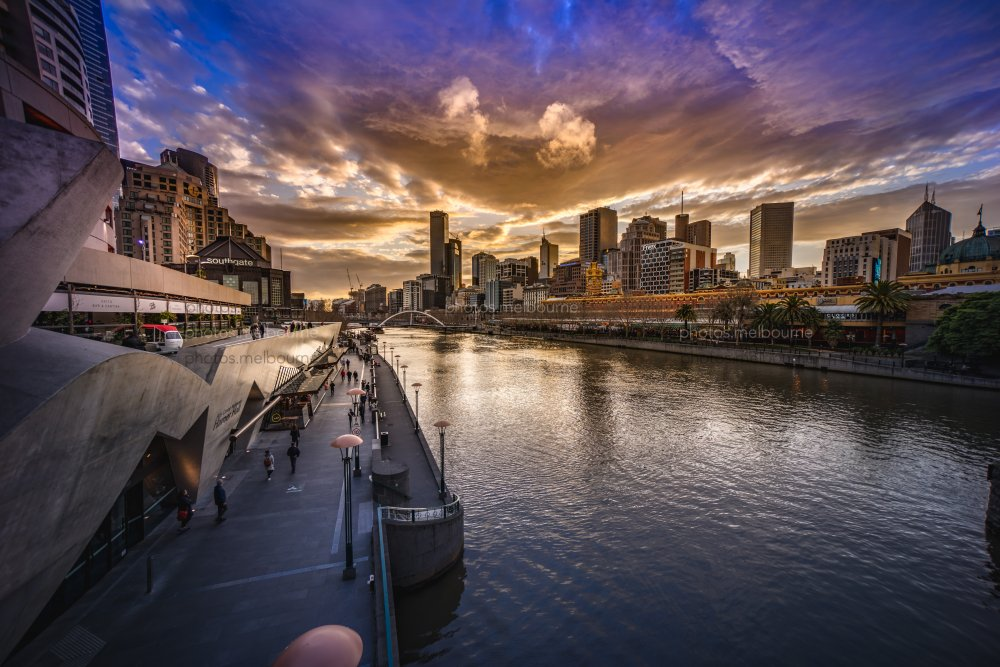 Ripping sunset over Melbourne - Photos | Melbourne